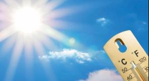 درجات الحرارة أعلى من معدلها السنوي بقليل