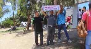 """غزة: مظاهرة """"السرايا"""" تنتهي بالقمع .. والمشاركون يؤكدون عبر وطن استمرارهم بالحراك"""