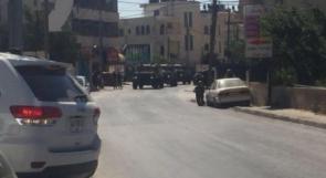 قوات الاحتلال تقتحم حي سطح مرحبا في البيرة