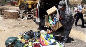 إتلاف 4.9 طن أغذية فاسدة في خانيونس