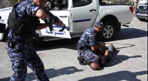 الشرطة تقبض على شخص قام بدهس شرطي بمركبة غير قانونية في قلقيلية