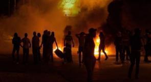 اصابات في تجدد المواجهات مع الاحتلال في أبو ديس