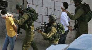إعتقال خمسة مواطنين بعد قمعه مسيرة سلمية في يطا