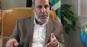 الزهار: الاحتلال يحاول ربط حماس بحزب الله وايران وسوريا لتبرير ضرب غزة