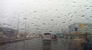 الطقس: منخفض جوي مصحوب بكتلة هوائية باردة وامطار في كل المناطق