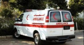 اصابة طفلة بحادث دهس في الخليل