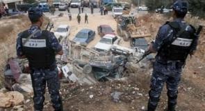 الشرطة تتلف 152 مركبة غير قانونية في رام الله وطولكرم