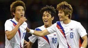 رجال كوريا الجنوبية ينالون برونزية كرة القدم في الاولمبياد