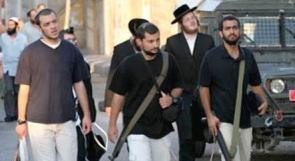 مستوطنون يعتدون على مواطنين في القدس
