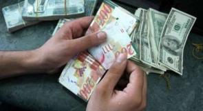ارتفاع طفيف لأسعار العملات مقابل الشيقل