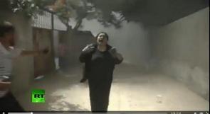 بالفيديو... اللحظات الأولى لقصف عائلة كوارع