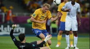 بالصور.. فرنسا تسقط أمام السويد وتقع بمواجه إسبانيا