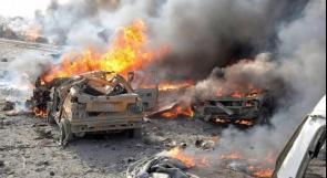 سانا: مقتل عدد من الجنود الأتراك بانفجار سيارة مفخخة في ريف الرقة
