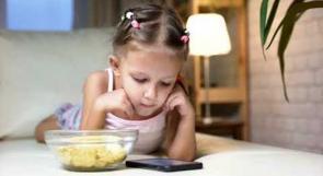 إدمان الأطفال على الأجهزة الذكية خلال فترة الحجر