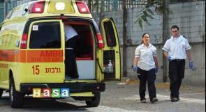 اصابة عامل بعد سقوطه في ورشة ببئر السبع