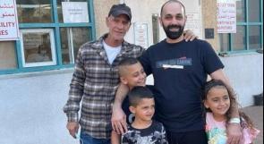 اللد | الاحتلال يفرج عن الشاب أيوب شقيق الشهيد موسى حسّونة