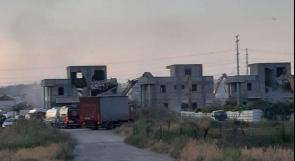 هدم 4 منازل قيد الإنشاء في الطيرة بالداخل المحتل