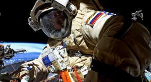 رائد فضاء روسي يدلي بصوته من محطة الفضاء الدولية