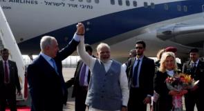 إسرائيل : مسار العلاقة مع الهند، يطبق مع السعودية