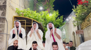 """بعد غياب لعشرات الأعوام.. """"زفة العرسان"""" تعود لساحات الحرم الإبراهيمي"""