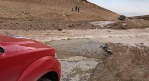 سيول بسبب الأمطار شرق بيت لحم والدفاع المدني يحذر من التنزه في المنطقة