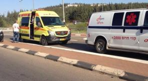7 إصابات بحادث سير في سخنين