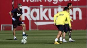 مدرب برشلونة يعلق على جاهزية ميسي وحالة سواريز للمشاركة أمام مايوركا