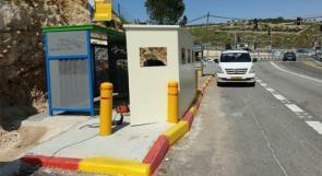 الاحتلال يزيل تحصينات نصبت لحماية الجنود قرب المستوطنات