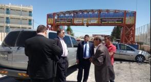 سفير النمسا لدى فلسطين يطلع على الأوضاع المعيشية في الجلزون