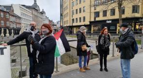 صور   للأسبوع الثالث.. حملة مقاطعة بضائع الاحتلال مستمرة في الدنمارك
