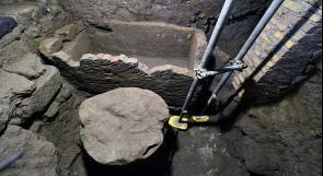 اكتشاف ضريح مؤسس روما