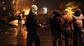 مواجهات مع الاحتلال في بلدة سلواد