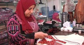 أم سوسن.. من مسكن الأيتام إلى سيدة أعمال تشغل 300 امرأة فلسطينية!