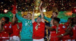 بايرن ميونيخ يتوج بلقب كأس ألمانيا