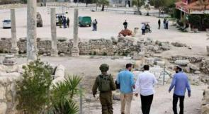 قوات الاحتلال تقتحم سبسطية الأثرية تمهيداً لاقتحام المستوطنين