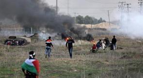 إصابة 5 شبان شمال القطاع بزعم عبثهم بمعدات أمنية للاحتلال