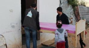 """بعد تقرير لـ""""وطن"""": بالفيديو..غزة: تبرعات لعائلة تعاني السرطان"""