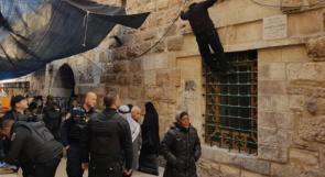 الاحتلال يهاجم البسطات وسط القدس ويعتدي على عدد من البائعات