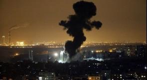 طيران الاحتلال يستهدف بصاروخ مجموعة من الشبان شرق دير البلح