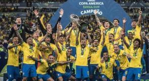 """فيديو .. البرازيل تتوج بـ""""كوبا أمريكا"""" لتاسع مرة في تاريخها"""