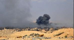 مقتل 5 مدنيين بغارات للتحالف الأمريكي على شرقي سوريا