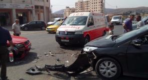 وفاة الفتاة أسيل نور بحادث سير غرب غزة