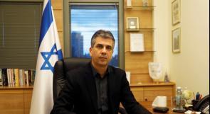 وزير استخبارات الاحتلال: علاقتنا مع العالم العربي لا تعتمد على السلام مع الفلسطينيين