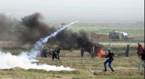 اصابة مواطنين برصاص الاحتلال في بيت لاهيا