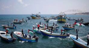 اصابات برصاص الاحتلال في المسير البحري