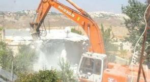 الاحتلال يهدم مصنعا في عزون ومنزلا في القدس