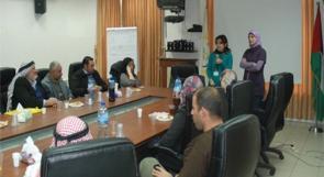 رام الله: الإغاثة الزراعية تعلن انتهاء مشروع معالجة المياه العادمة
