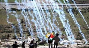 ' قنابل الصاروخ ' الاكثر استخداماً لقتل المتظاهرين الفلسطينيين وقمع المسيرات السلمية