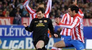 """برشلونة ينجو من """"ورطة"""" أتلتيكو مدريد"""
