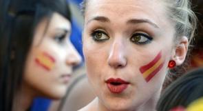 بالصور.. أسبانيا تدك حصون أيرلندا برباعية